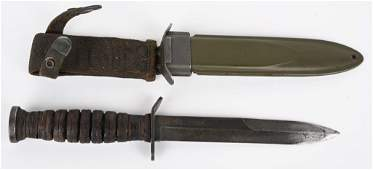 WWII US BLADE MARKED IMPERIAL M3 FIGHTING KNIFE