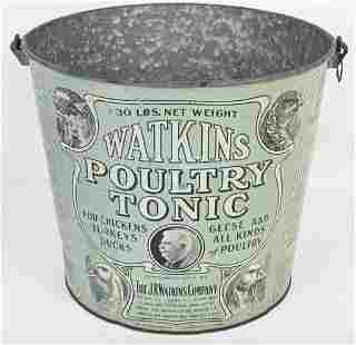 WATKINS POULTRY TONIC 30LB PAIL