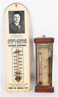 BAKERS ICE CREAM & WHEATLET THERMOMETERS