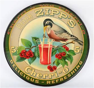 DRINK ZIPP'S CHERRI-O SERVING TRAY