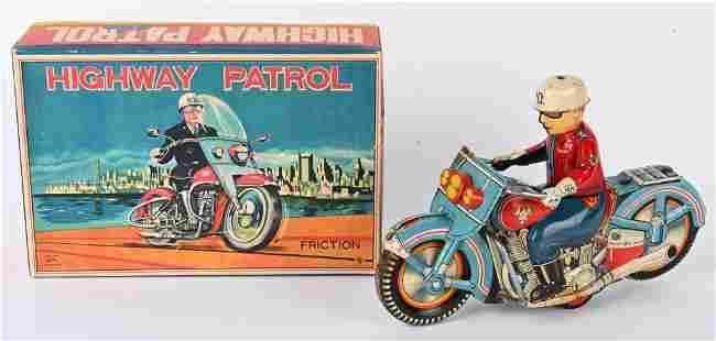 JAPAN FRICTION HIGHWAY PATROL MOTORCYCLE w/ BOX