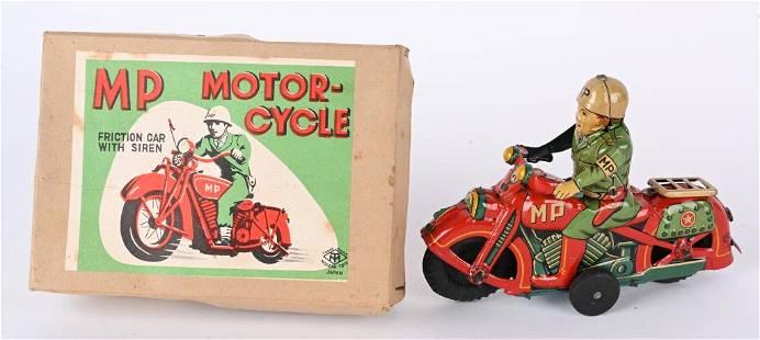JAPAN TIN FRICTION MP MOTORCYCLE w/ BOX