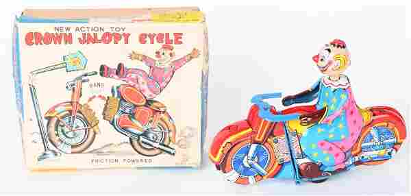 TPS TIN FRICTION CROWN JALOPY CYCLE w/ BOX