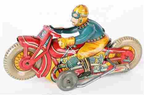 JAPAN TIN FRICTION ROLLOVER MOTORCYCLE