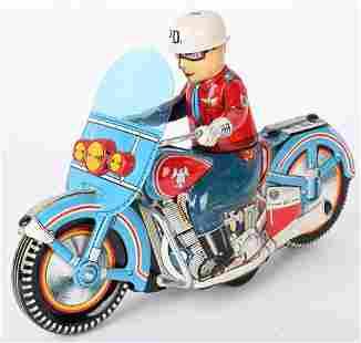 "12"" JAPAN TIN FRICTION PD MOTORCYCLE"