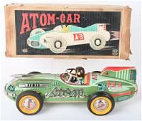 JAPAN TIN FRICTION ATOM CAR #153 w/ BOX