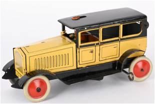 DISTLER TIN WINDUP SALOON WITH BOUNCING DRIVER