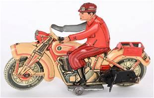 TIPP TIN WINDUP CIVILIAN MOTORCYCLE
