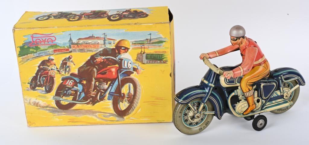 PAYA TIN FRICTION 813 MOTORCYCLE w/ BOX