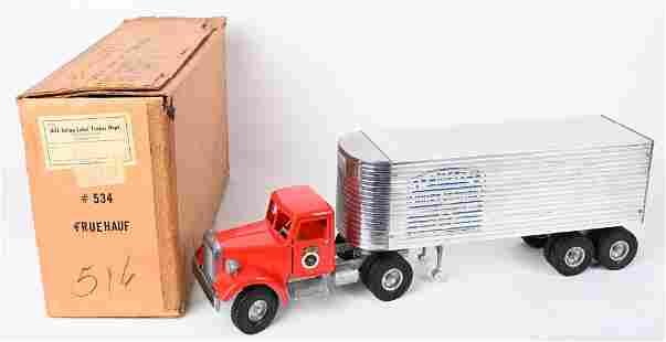 SMITH MILLER MIC TEAMSTERS SEMI TRUCK w/ BOX