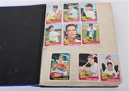 1965 TOPPS BASEBALL CARD ALBUM (628)