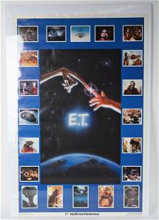 ET THE EXTRA-TERRESTRIAL MOVIE POSTER
