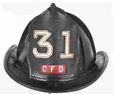 CAIRNS No. 31 CFD LEATHER FIRE HELMET