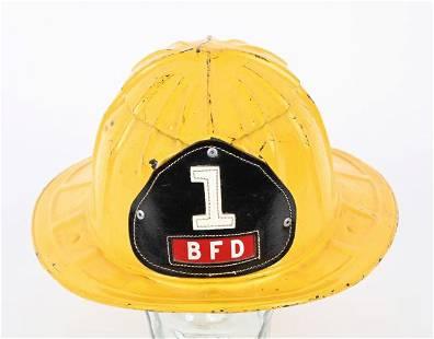 CAIRNS No. 1 BFD FIRE HELMET
