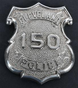 CLEVELAND POLICE DEPT. BADGE