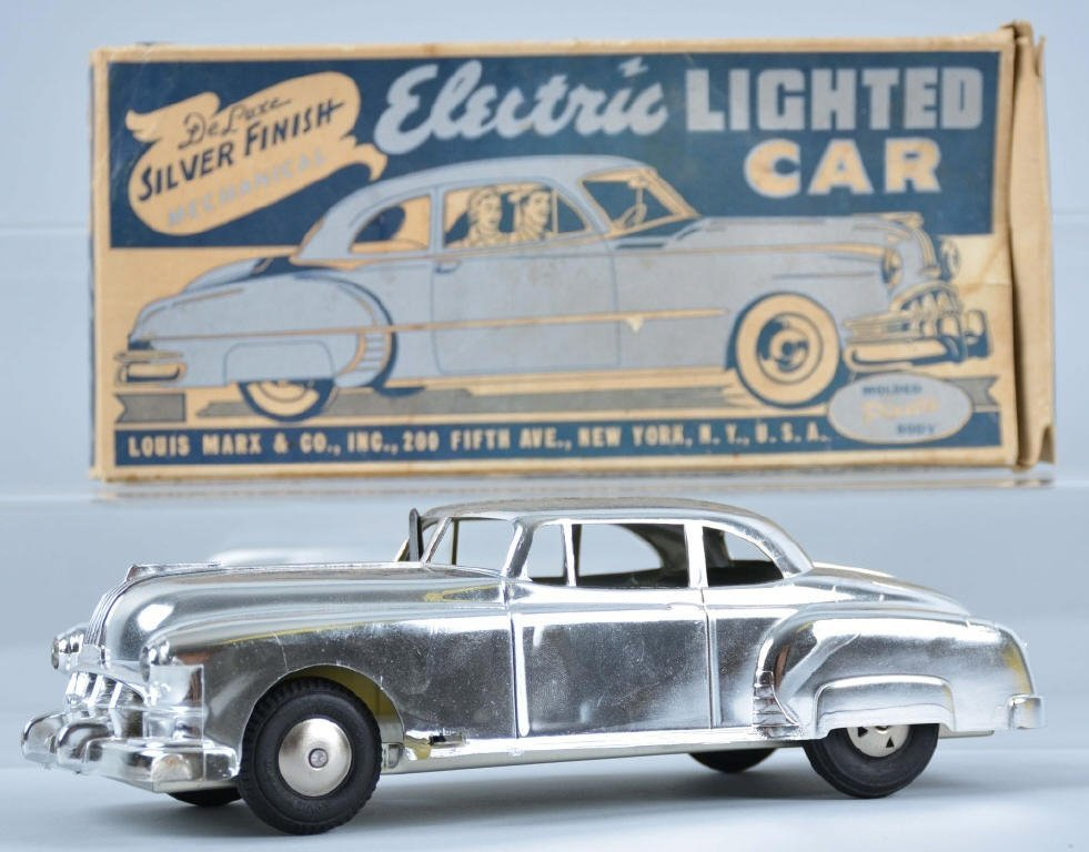 MARX Friction ELECTRIC LIGHTED CAR w/Box