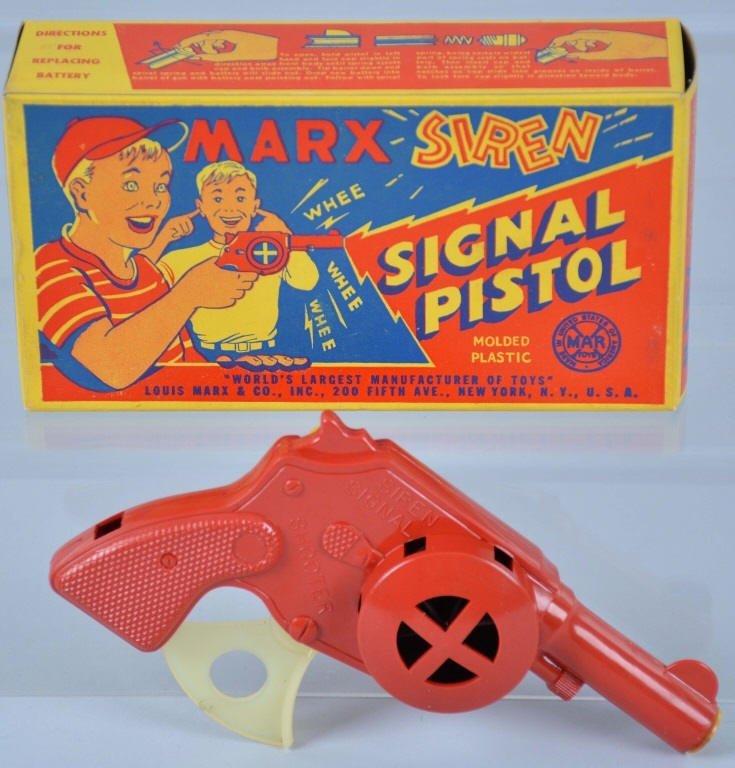 MARX Siren Signal Pistol MIB