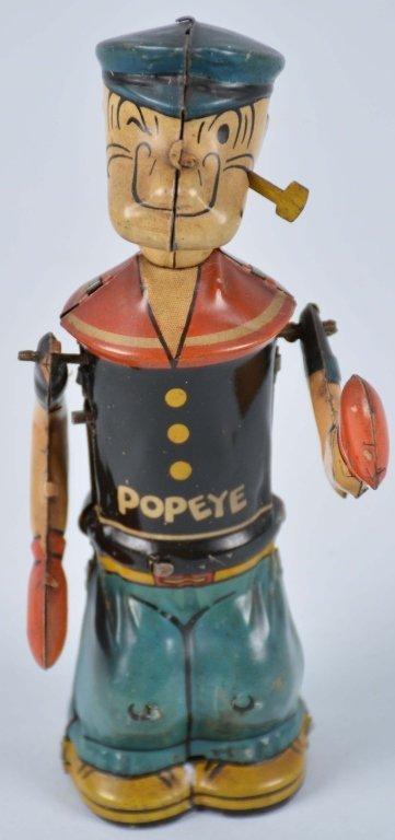 CHEIN Tin Windup POPEYE SHADOW BOXER