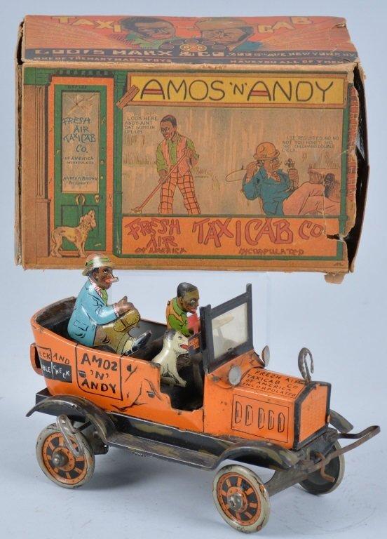 MARX Tin Windup AMOS & ANDY TAXI w/Box