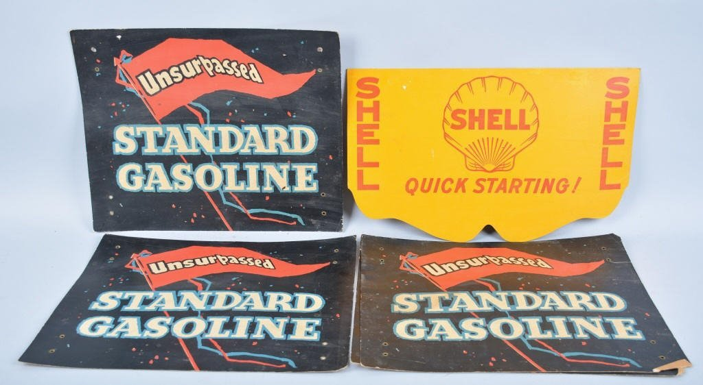 5 Vintage CARDBOARD RADIATOR COVERS
