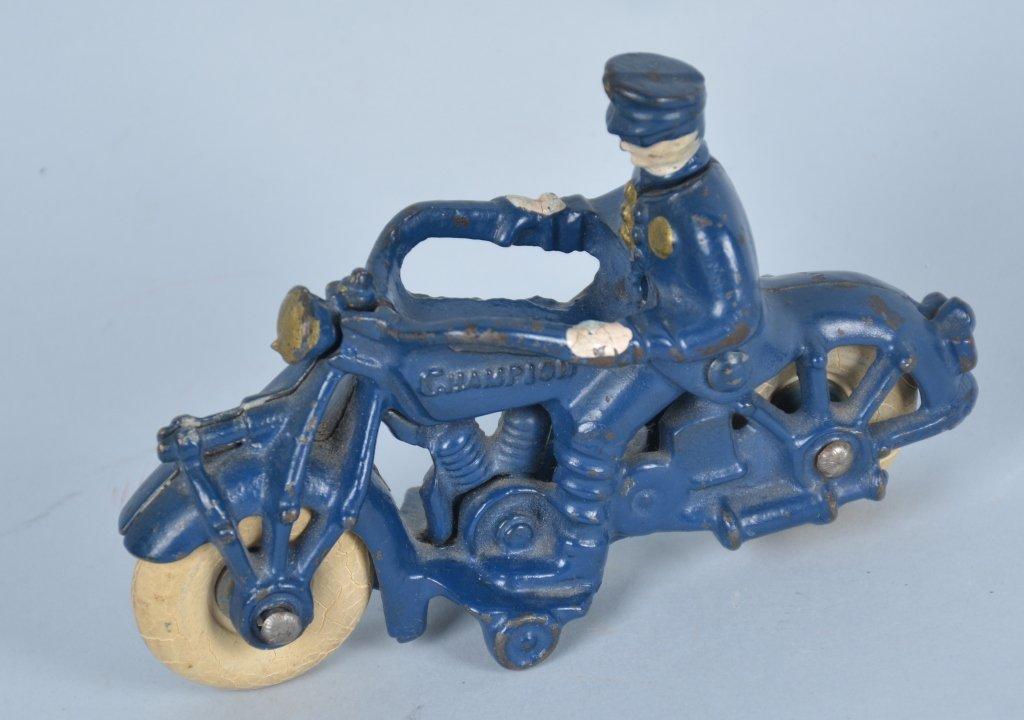 Champion 1930's Cast Iron Motorcycle