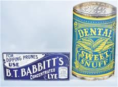 2-Vintage Advertising Signs