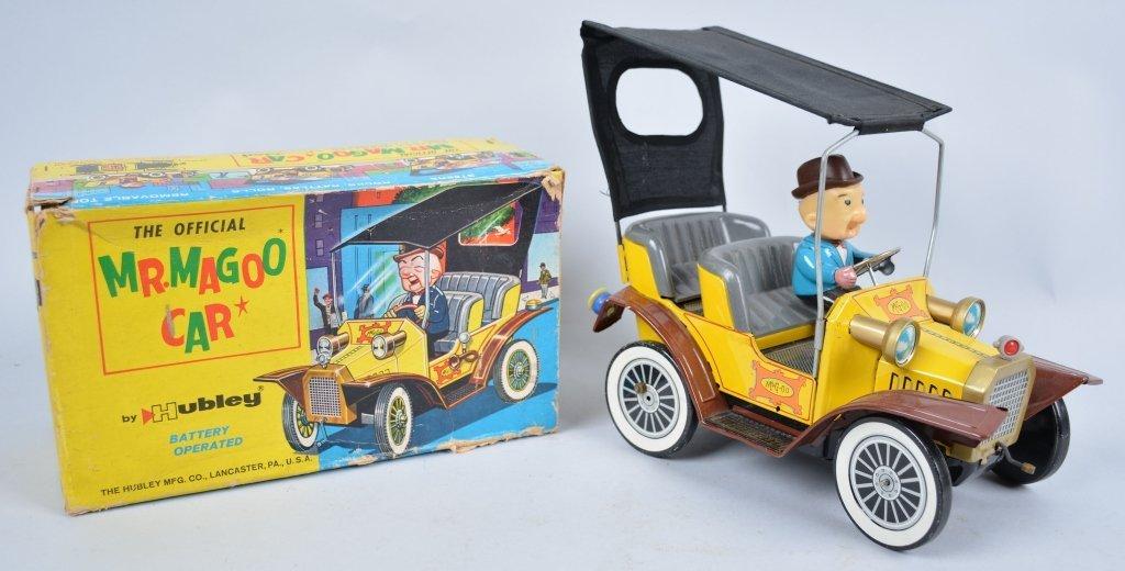 HUBLEY Battery Op MR MAGOO CAR w/Box