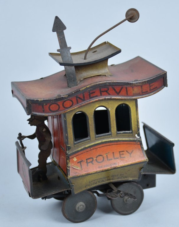 NIFTY Tin Windup TOONERVILLE TROLLY