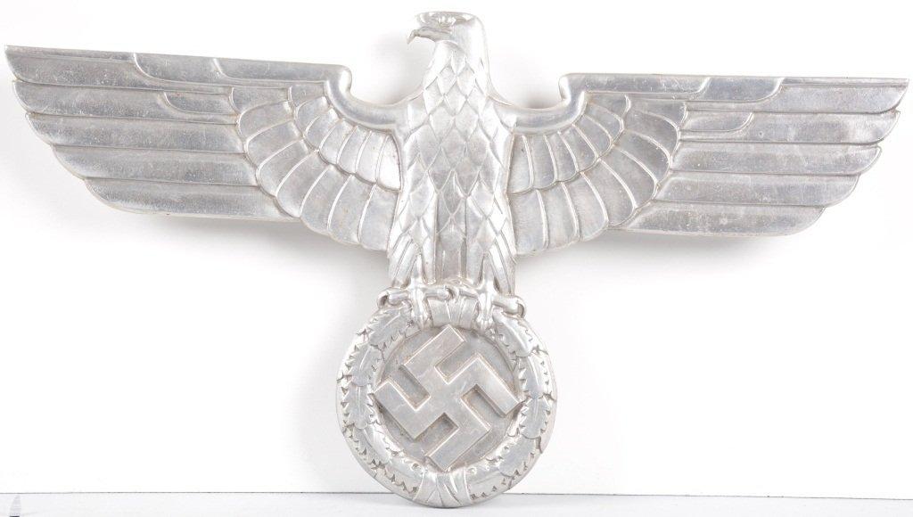 WW2 Nazi German Aluminum Eagle From Train