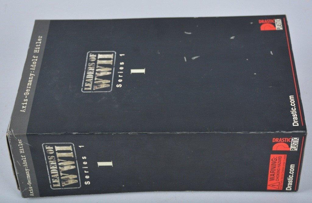DRASTIC PLASTIC ADOLF HITLER ACTION FIGURE w/BOX - 4