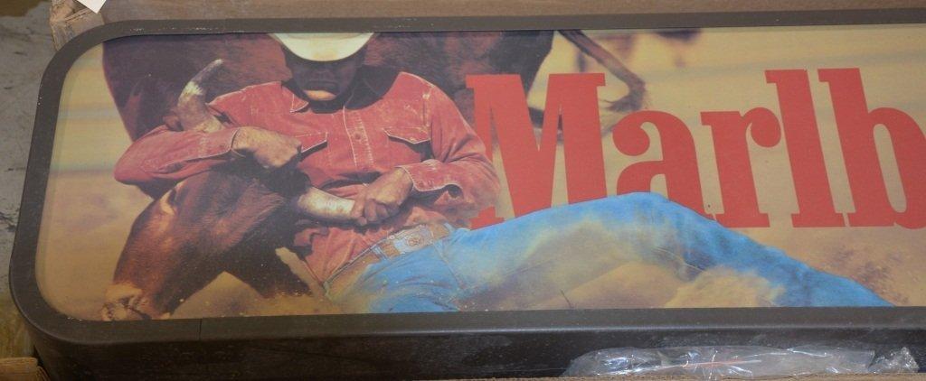 MARLBORO CIGARETTES ADVERTISING CLOCK - 2