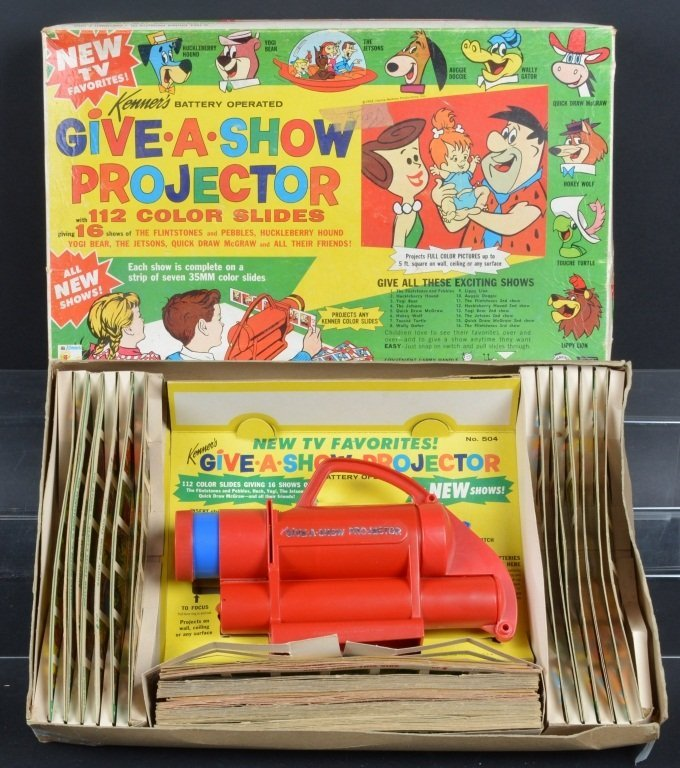 KENNER GIVE A SHOW PROJECTOR w/BOX Flintstones