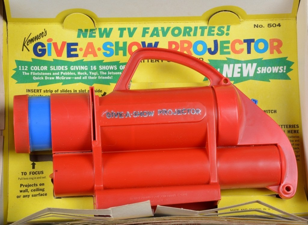 KENNER GIVE A SHOW PROJECTOR w/BOX Flintstones - 3