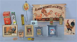 Lot of VINTAGE ADVERTISING ITEMS