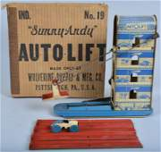 WOLVERINE Tin Windup AUTO LIFT w/ Box