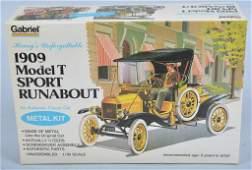 HUBLEY 1909 MODEL T RUNABOUT METAL KIT mib
