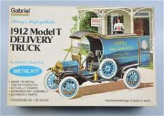 HUBLEY 1912 MODEL T DELIVERY METAL KIT mib