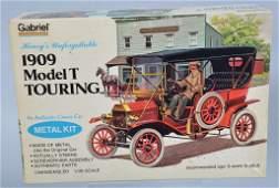 HUBLEY 1909 MODEL T TOURING METAL KIT mib
