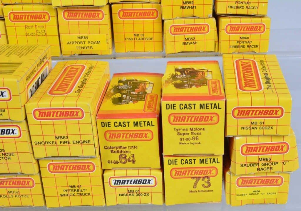 Lot of 70 1980s MATCHBOX CARS mib - 2