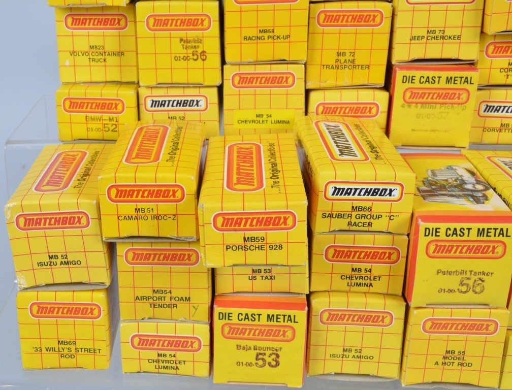 Lot of 70 1980s MATCHBOX CARS mib - 5