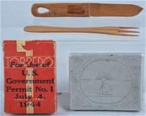 WW2 US POW Items