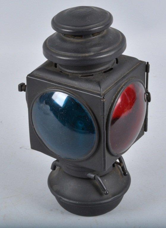 Set of 3 E&J 1908 OIL AUTO/CARRIAGE COACH LIGHTS - 4