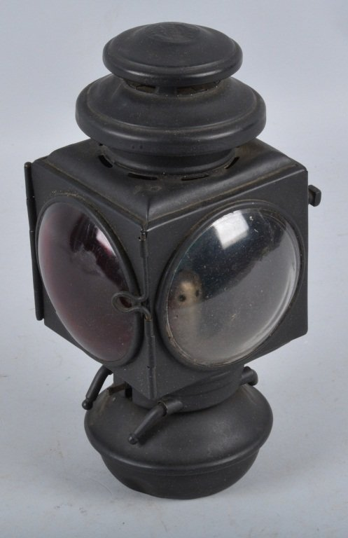 Set of 3 E&J 1908 OIL AUTO/CARRIAGE COACH LIGHTS - 5