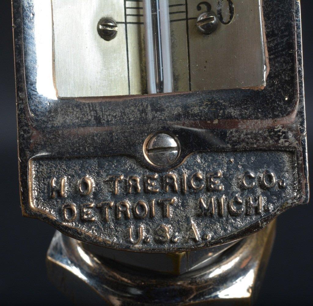 Vintage TRERICE BRASS TEMPERATURE GAUGE - 4