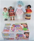 Lot of VINTAGE DOLLS  MORE