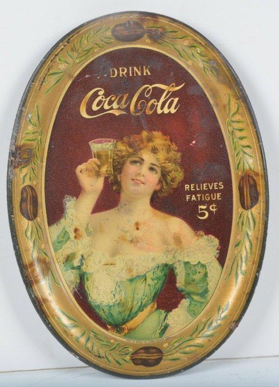 1907 COCA COLA TIP TRAY
