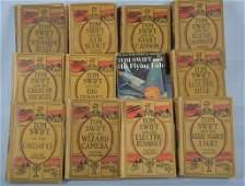 Lot of 12 Tom Swift Books Vintage