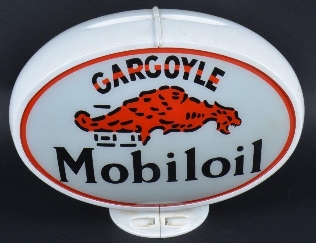 MOBILOIL GARGOYLE GAS GLOBE