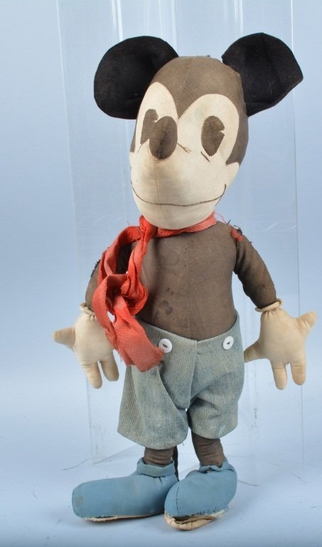 1930s McCALLS PATTERN MICKEY MOUSE DOLL