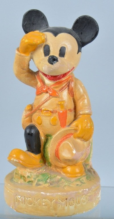 1938 MICKEY MOUSE BOY SCOUT Figure
